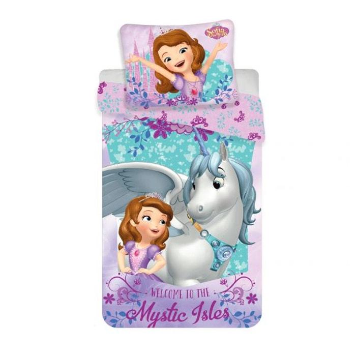 Princesse Sofia Disney Parure De Lit Licorne Multicolore Princesse
