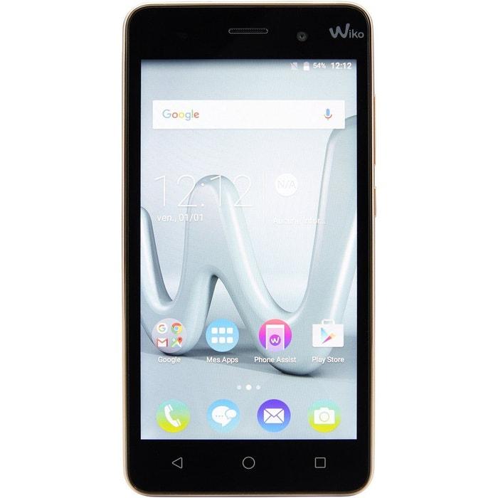 smartphone wiko lenny 3 gold or wiko la redoute. Black Bedroom Furniture Sets. Home Design Ideas
