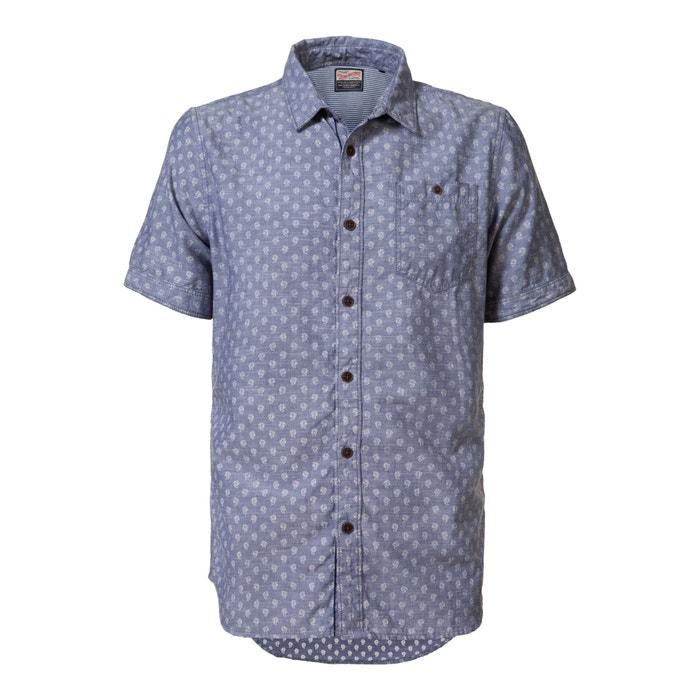 Imagen de Camisa estampada de corte recto PETROL INDUSTRIES