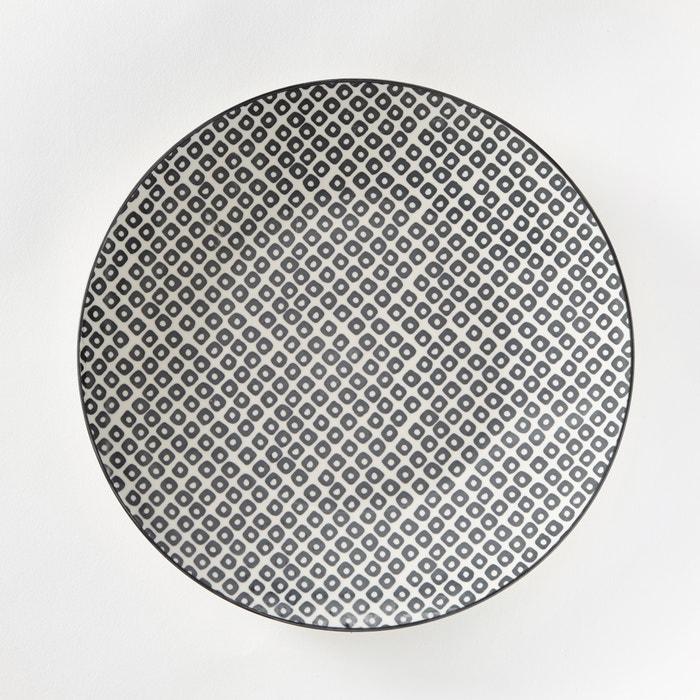 Confezione da 4 piatti piani in porcellana, AKIVA  La Redoute Interieurs image 0