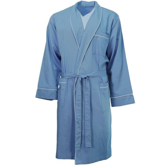 robe de chambre homme after eight sensei la maison du coton la redoute. Black Bedroom Furniture Sets. Home Design Ideas