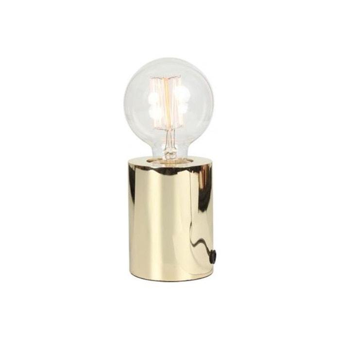 Lampe A Poser Tactile En Métal Chromé H9,5xD7,5 VISIO DECLIKDECO