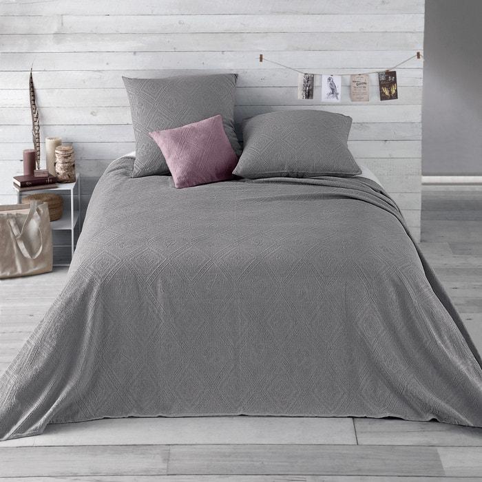 Image Dessus de lit coton jacquard, INDO La Redoute Interieurs