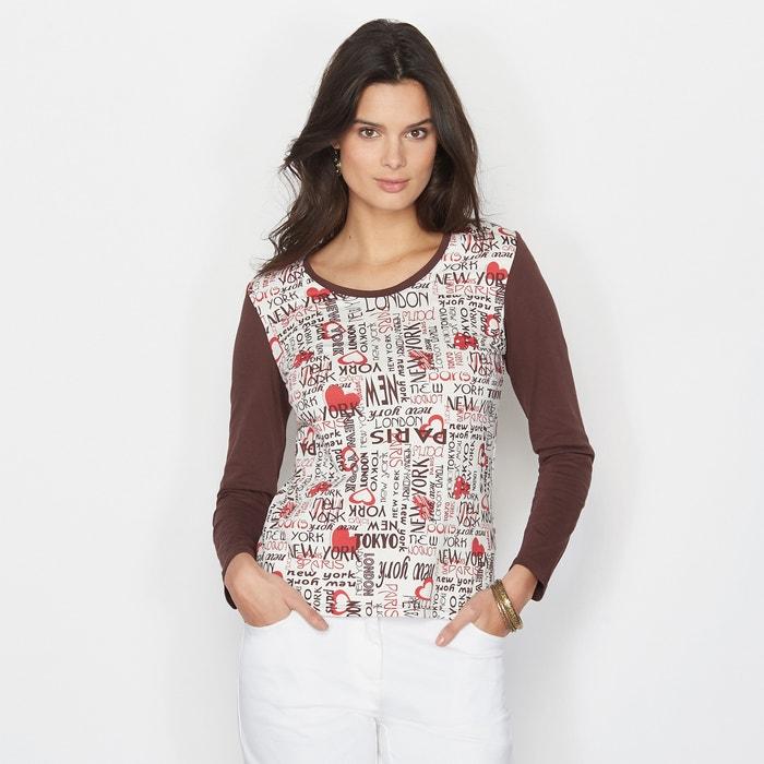 Imagen de Camiseta con estampado delante ANNE WEYBURN