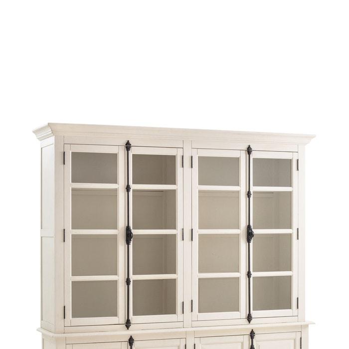 vaisselier 4 portes eulali blanc la redoute interieurs la redoute. Black Bedroom Furniture Sets. Home Design Ideas