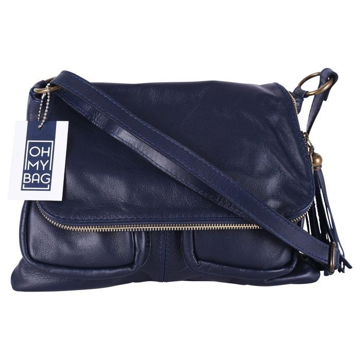 Sac à main en cuir avril Oh My Bag   La Redoute 4ed2292d3ae1