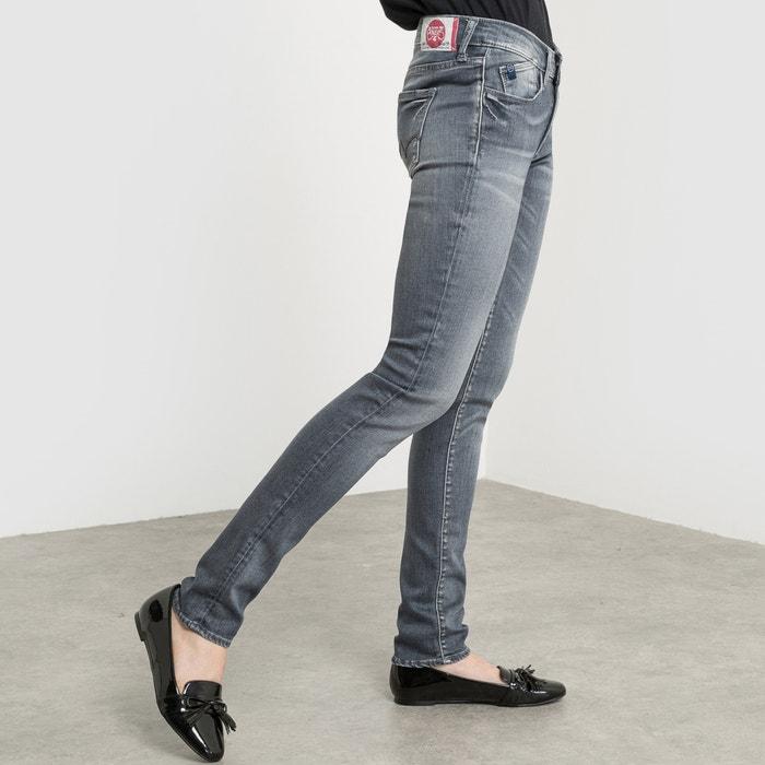 Image Jean coupe slim, taille normale, longueur 32 LE TEMPS DES CERISES