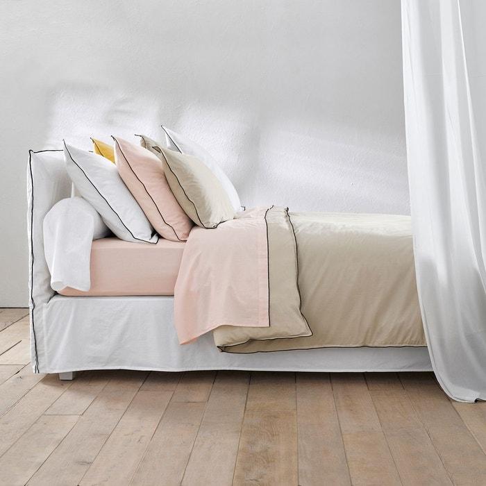 Autre image Taie d'oreiller voile de coton lavé, Gypse AM.PM.
