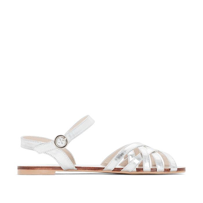 Metallic sandals wide foot  CASTALUNA image 0