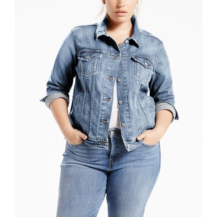 Veste jean femme trucker levis