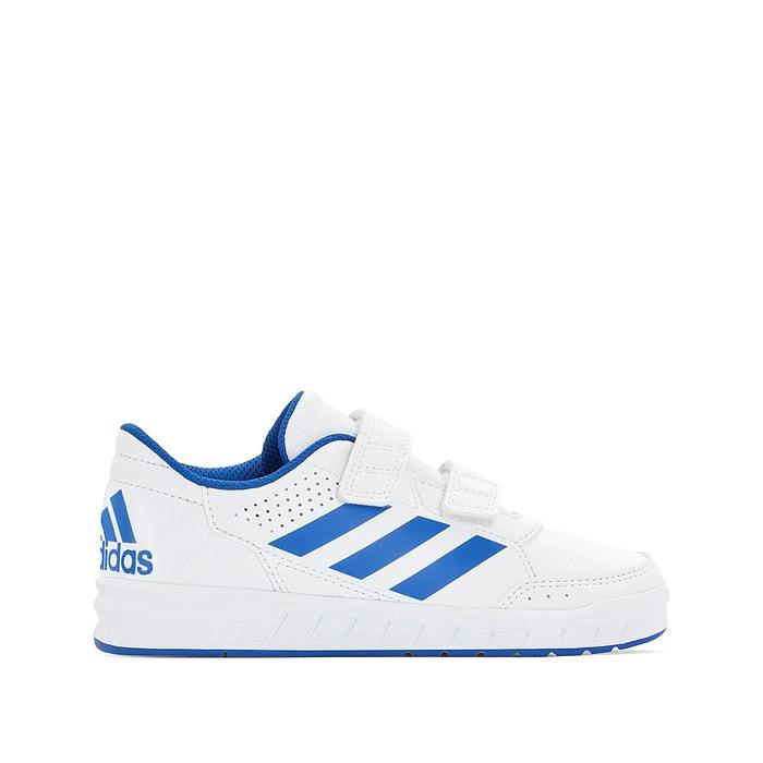 big sale c7343 45233 Altasport cf k kids touch  n  close trainers , white blue, adidas  Performance