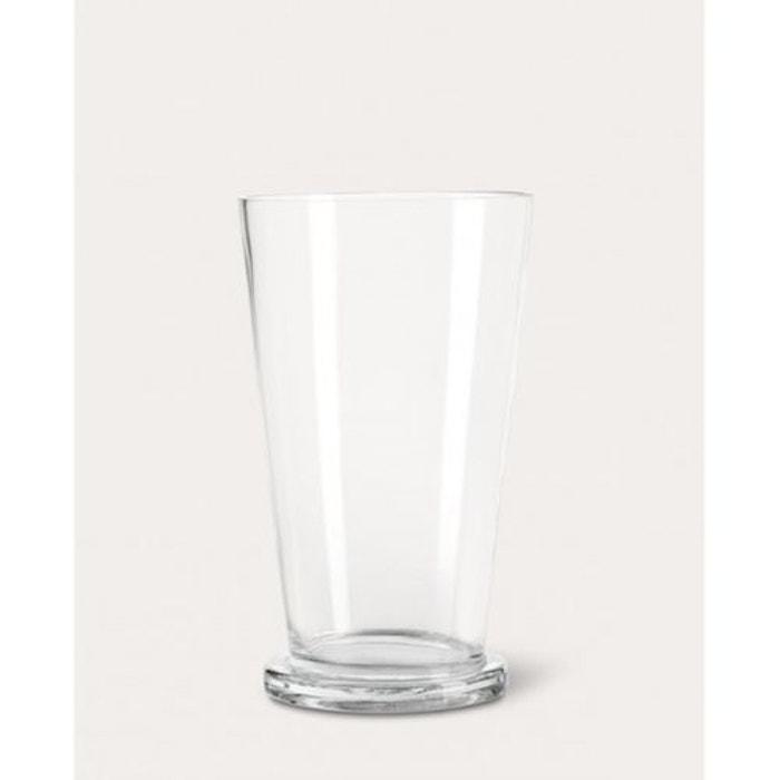 Photophore verre vas 30cm pour bougie cylindrique - Objet cylindrique 94 ...