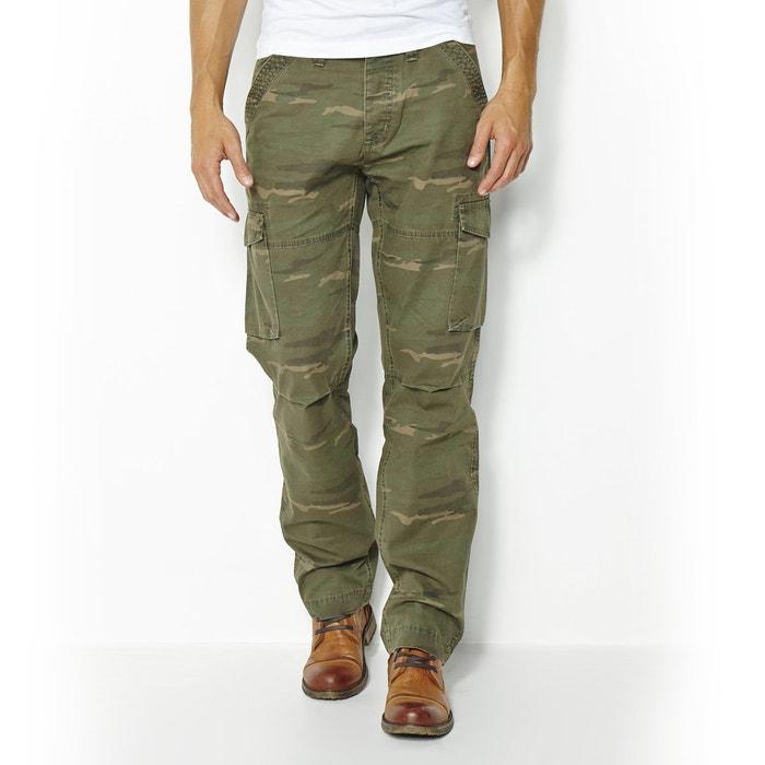 Image Wzorzyste spodnie bojówki w 100% z bawełny R édition