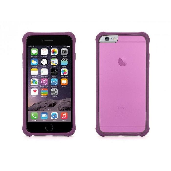 coque iphone 6 silicone lila