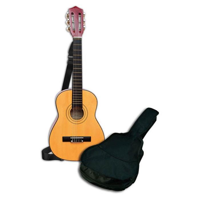 guitare classique en bois 75 cm couleur unique bontempi. Black Bedroom Furniture Sets. Home Design Ideas