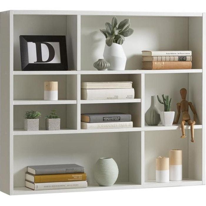 etag re murale 9 cases blanche daisy blanc declikdeco la redoute. Black Bedroom Furniture Sets. Home Design Ideas