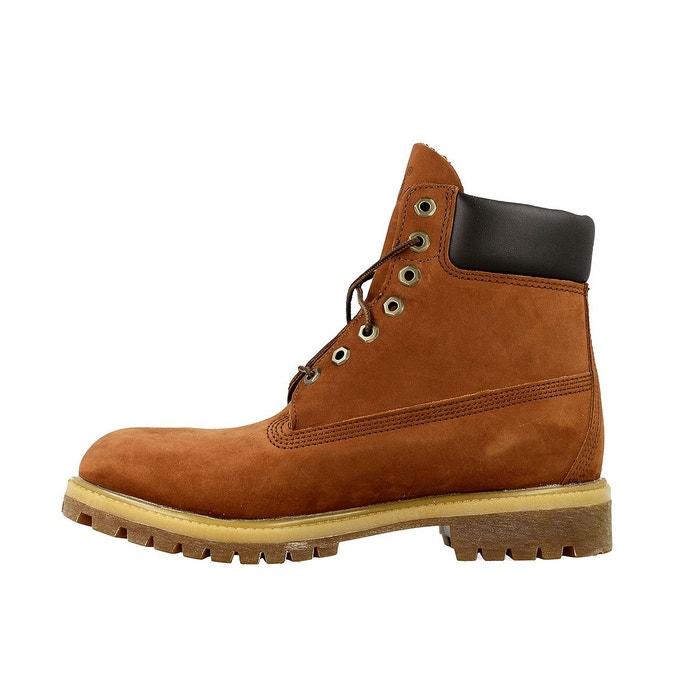 Boots timberland 6 inch premium - ref. c6768r marron Timberland
