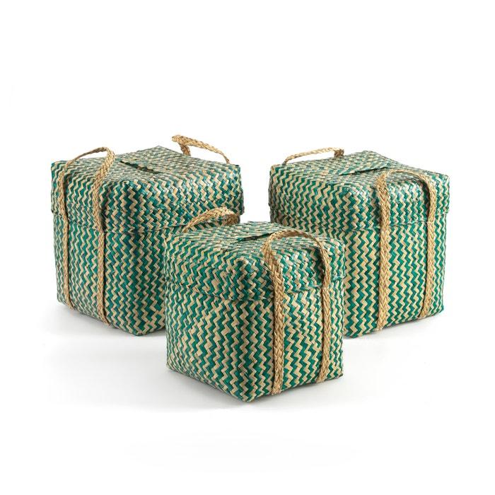 Jonk Woven Baskets (Set of 3)  La Redoute Interieurs image 0