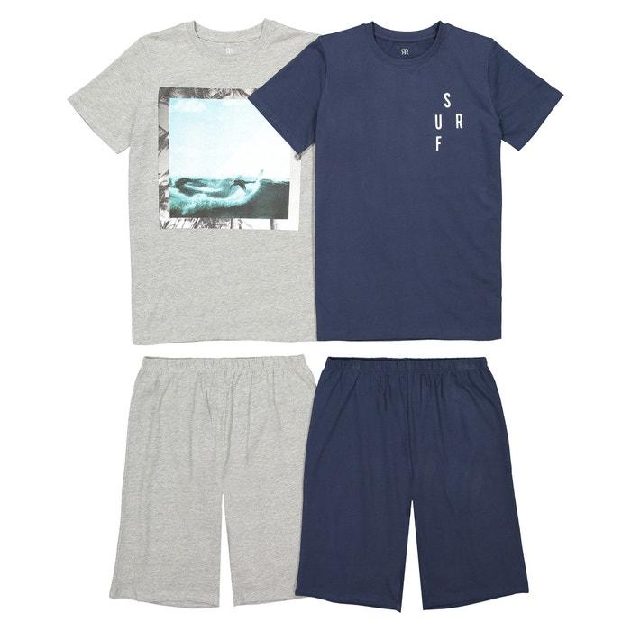 c8bcfd6f59 Lote de 2 pijamas con short estampados