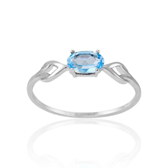 Bague or 375/1000 topaze bleu Cleor | La Redoute Acheter Plus Récent ssqo7wHM