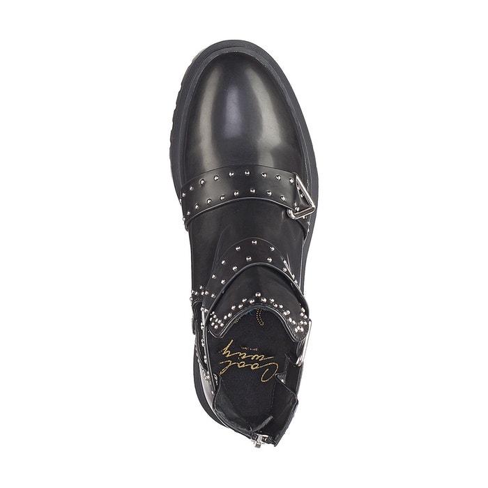 Boots ajourées Ankara, Noir