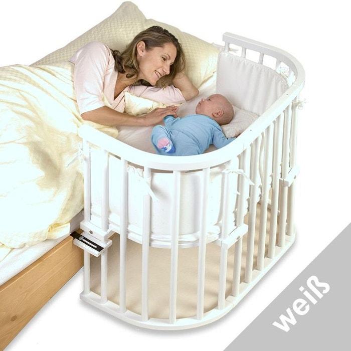 berceau lit b b cododo babybay original blanc verni 43 x 86 cm couleur unique babybay la redoute. Black Bedroom Furniture Sets. Home Design Ideas