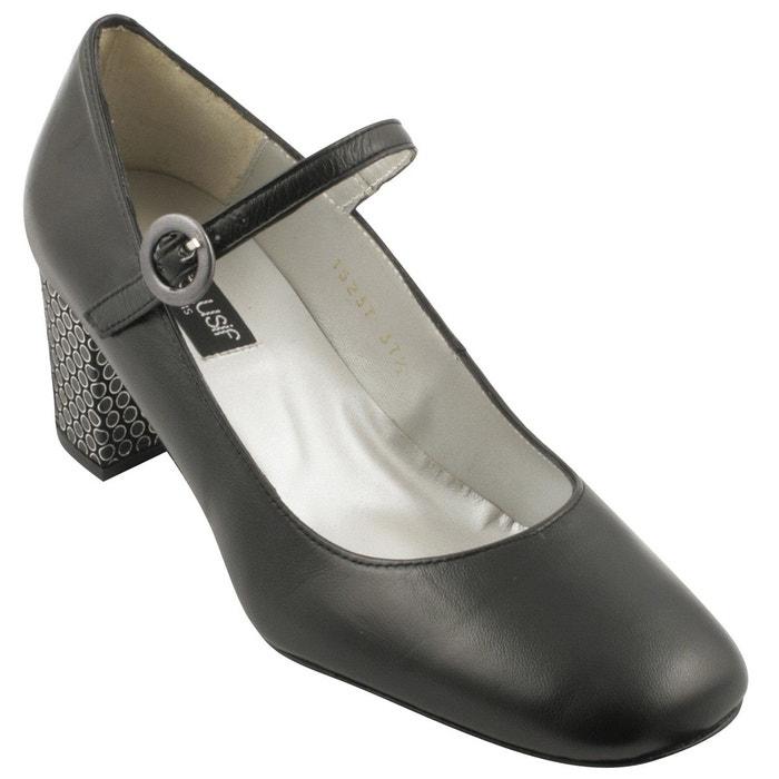 Chaussures à talons milla noir Exclusif Paris