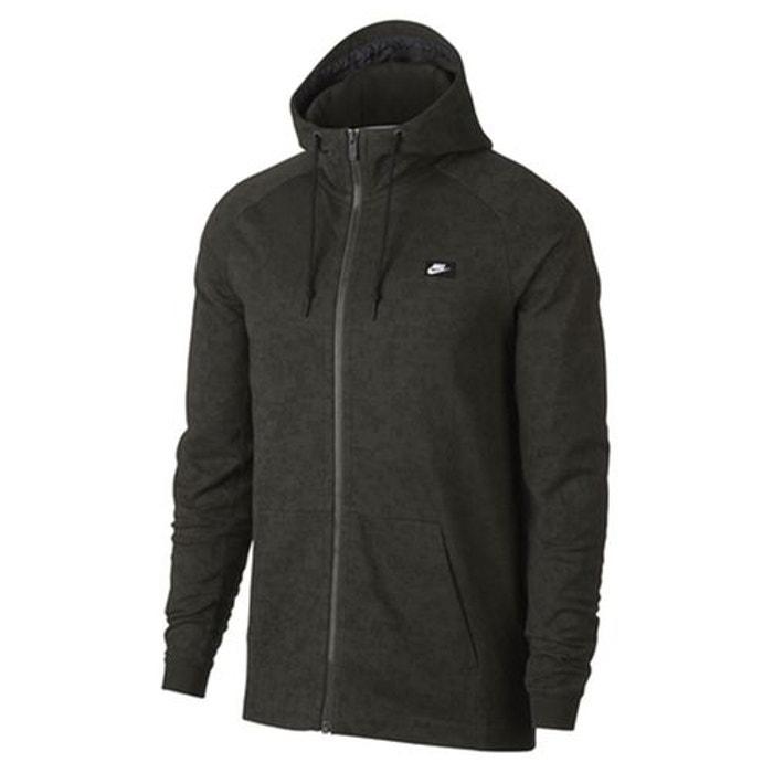 Sweat à capuche kaki foncé Nike   La Redoute b0db703f8f5d