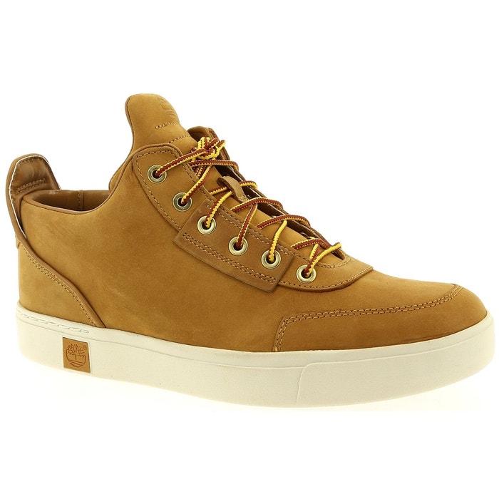 bca7d8c79cb Chaussures à lacets timberland amherst high top chukka wheat miel Timberland