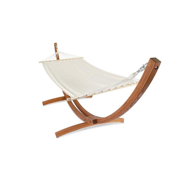 hamac sur pied en bois manille oviala la redoute. Black Bedroom Furniture Sets. Home Design Ideas