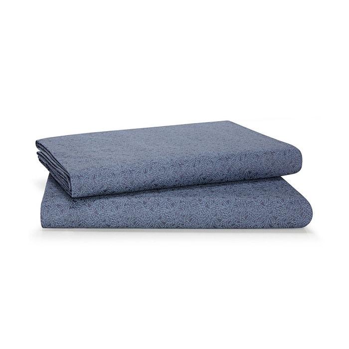 drap plat bonaire violet calvin klein home la redoute. Black Bedroom Furniture Sets. Home Design Ideas