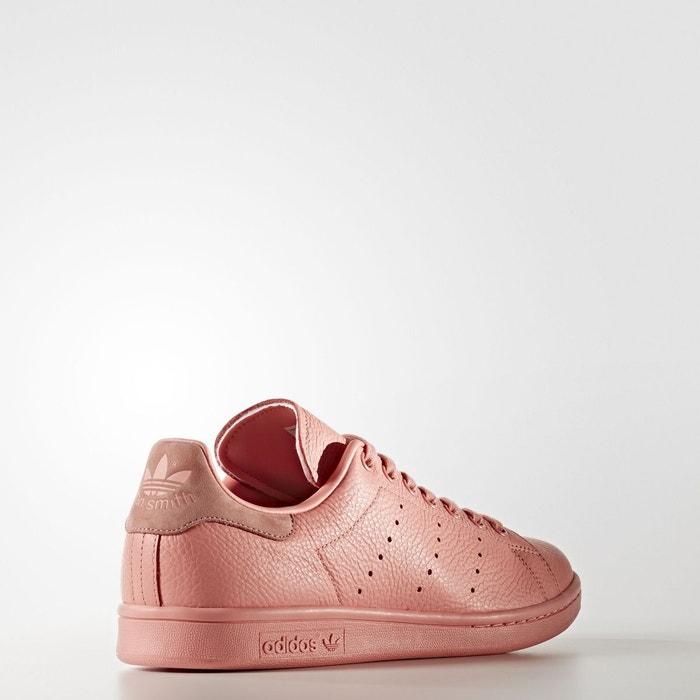 Baskets femme adidas stan smith cuir femme rose rose Adidas