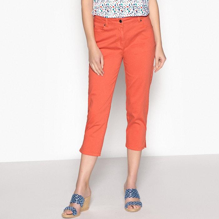 Calças curtas bordadas, algodão stretch  ANNE WEYBURN image 0