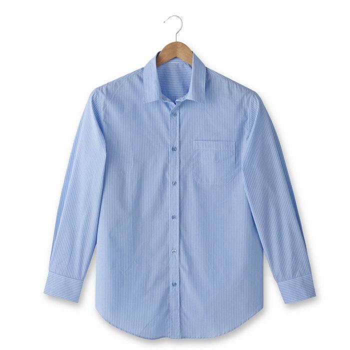 Imagen de Camisa de popelina de manga larga, estatura 3 CASTALUNA FOR MEN