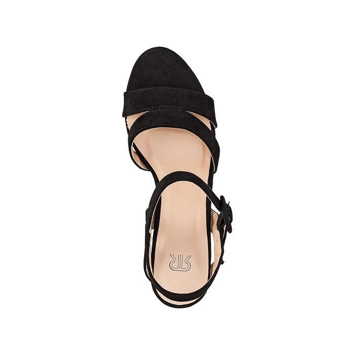 des sandales sandales sandales à talon, noir, la Rouge oute collections   Des Technologies Sophistiquées  50d096