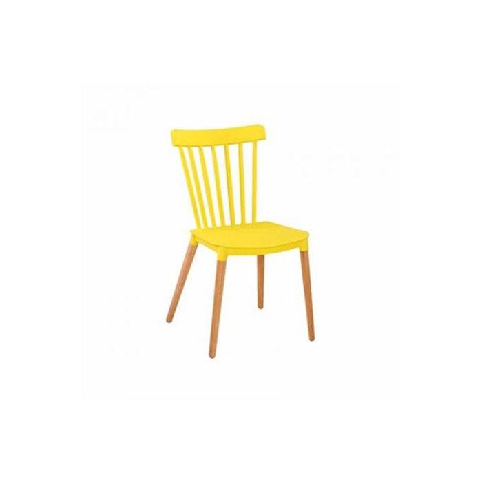 chaise scandinave jaune cicitron declikdeco image 0 - Chaise Scandinave Jaune