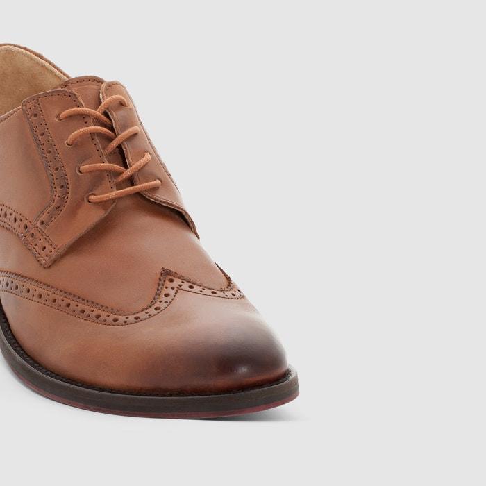 con de cordones piel Redoute La Derbys Collections Zapatos FqOgwaP