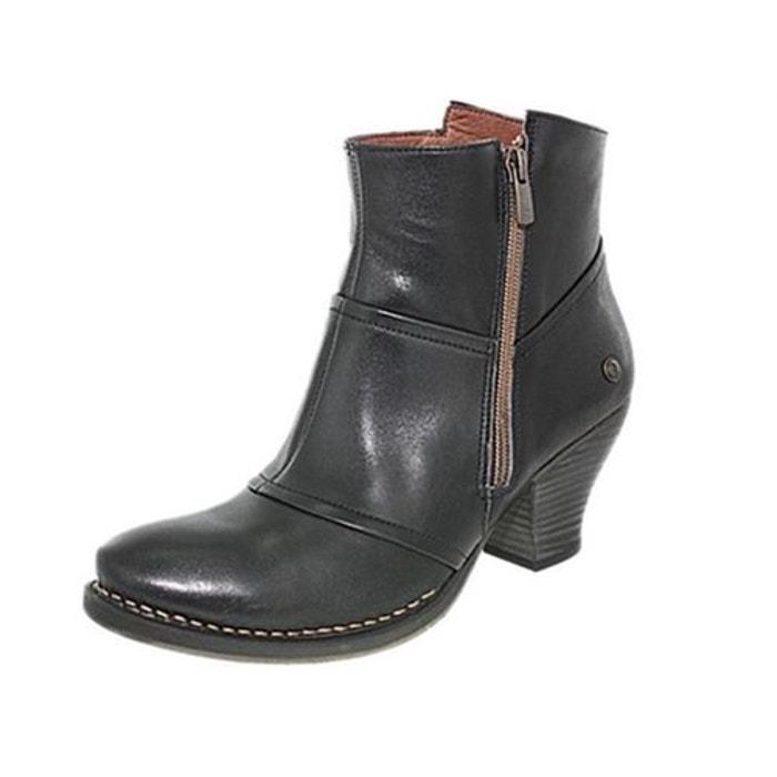 Style De Mode Rabais Bottines cuir noir Neosens Vente De Sortie De Prix Pas Cher xkwAHS2wX