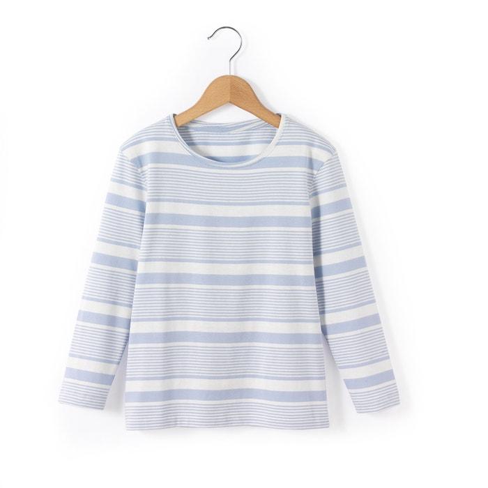 Image T-shirt a righe da 3 a 12 anni R essentiel
