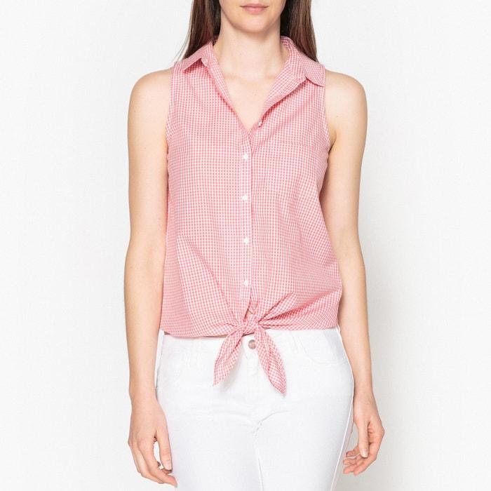 Рубашка без рукавов CAROLE POPELINE  JOLIE JOLIE PETITE MENDIGOTE image 0