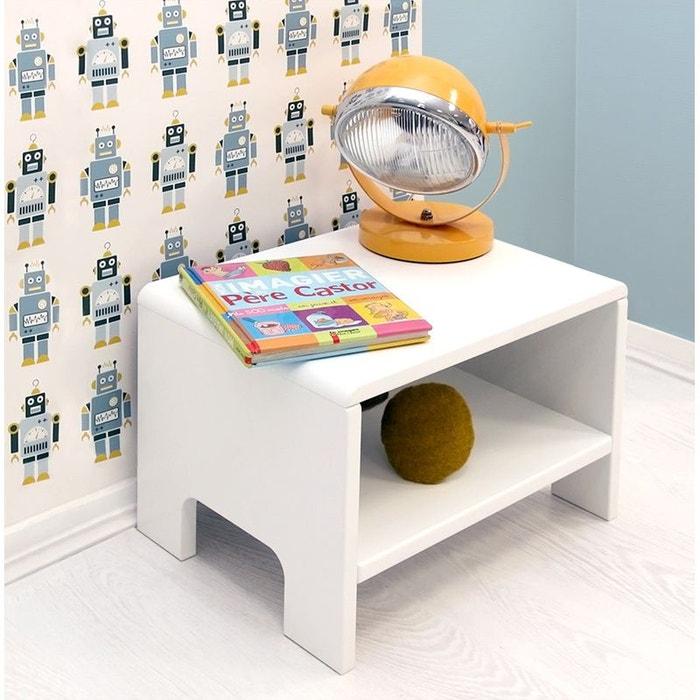 table de nuit diabolo fdtc la redoute. Black Bedroom Furniture Sets. Home Design Ideas