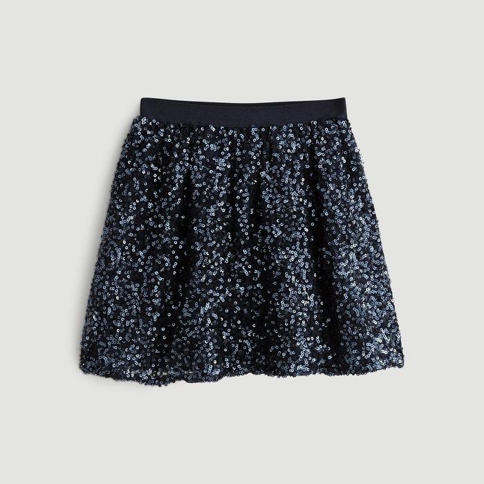 1848744177141 Jupe sequins bleu Monoprix Kids   La Redoute