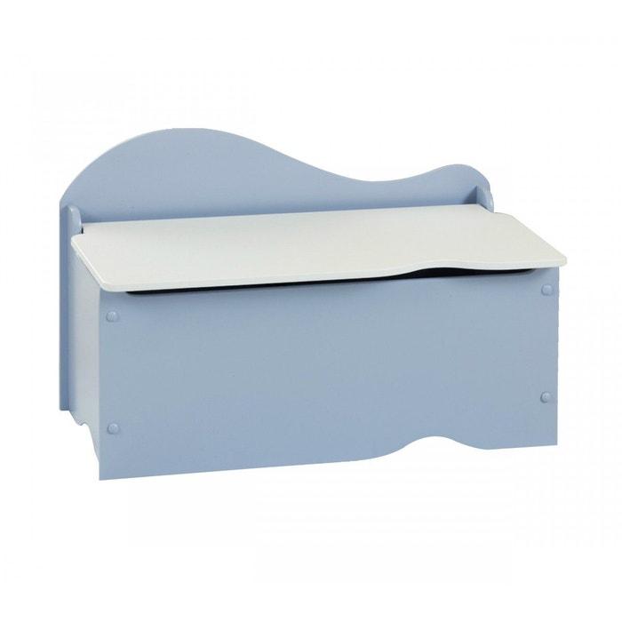 coffre de rangement enfant bleu blanc terre de nuit bleu. Black Bedroom Furniture Sets. Home Design Ideas