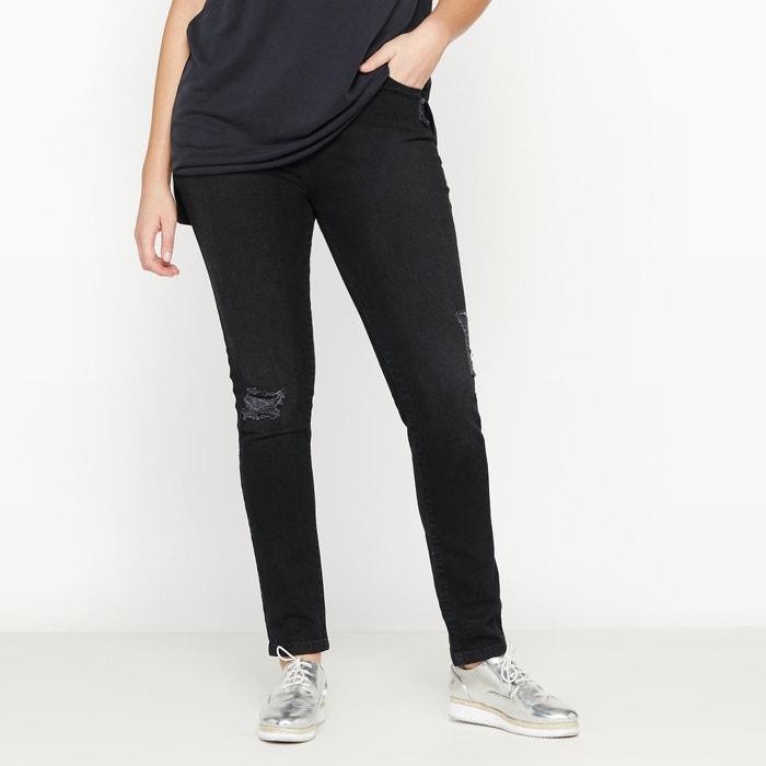 Image Distressed Slim Fit Jeans CASTALUNA