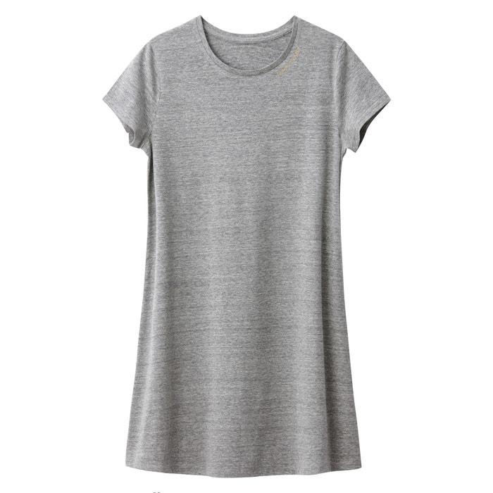 Abito t-shirt svasato 10-16 anni  La Redoute Collections image 0