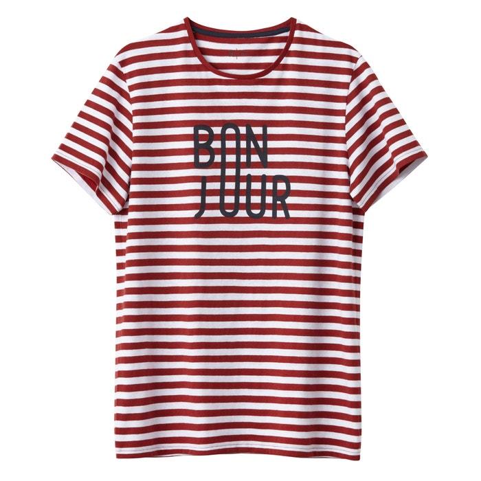 Imagen de Camiseta a rayas, cuello redondo R édition