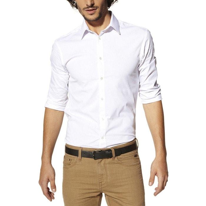Imagen de Camisa ajustada de popelina stretch Jasantal 2, manga larga CELIO