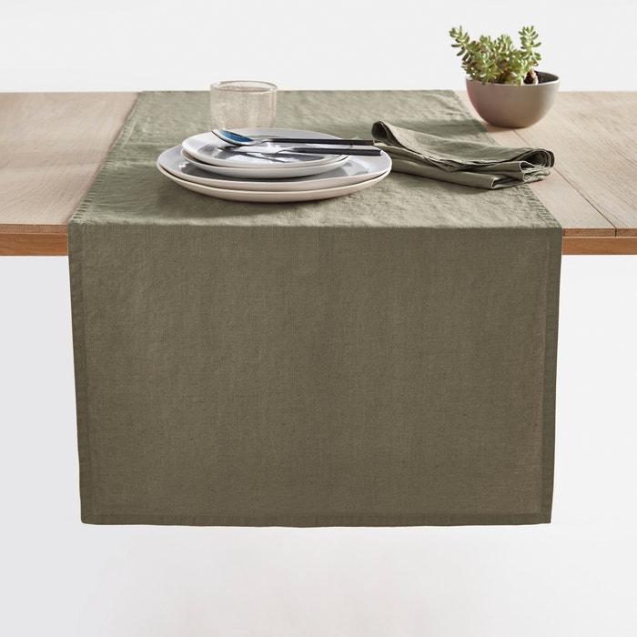 Image Chemin de table  Victorine, lin lavé. La Redoute Interieurs