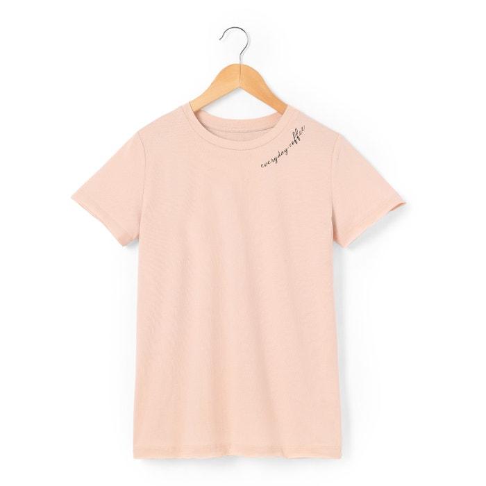 afbeelding T-shirt met korte mouwen 10-16 jr La Redoute Collections
