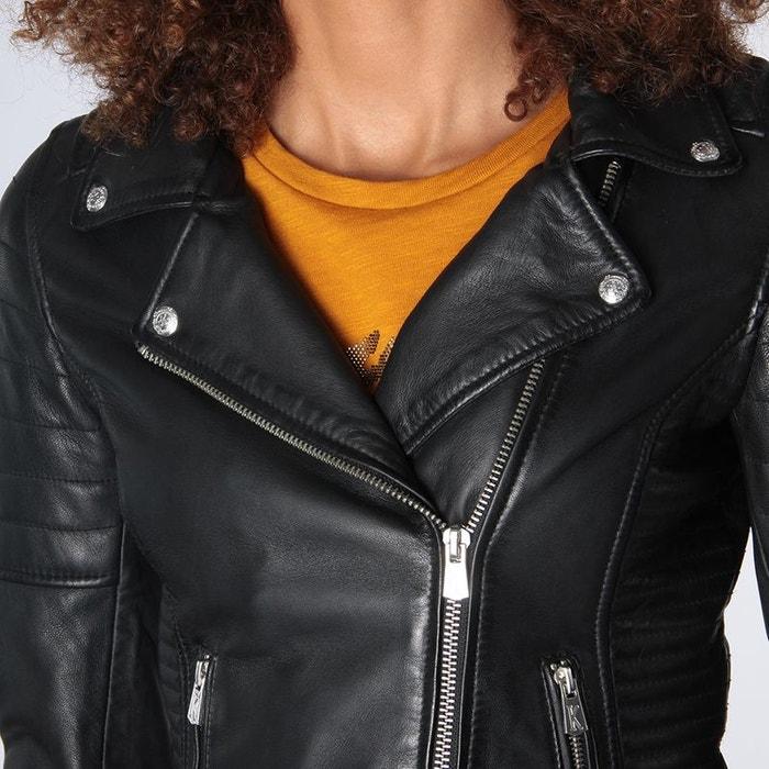La Veste Redoute Femme Matelassé Cuir Rola Noir Black Kaporal Xhtrfwh l1J3uTKFc5